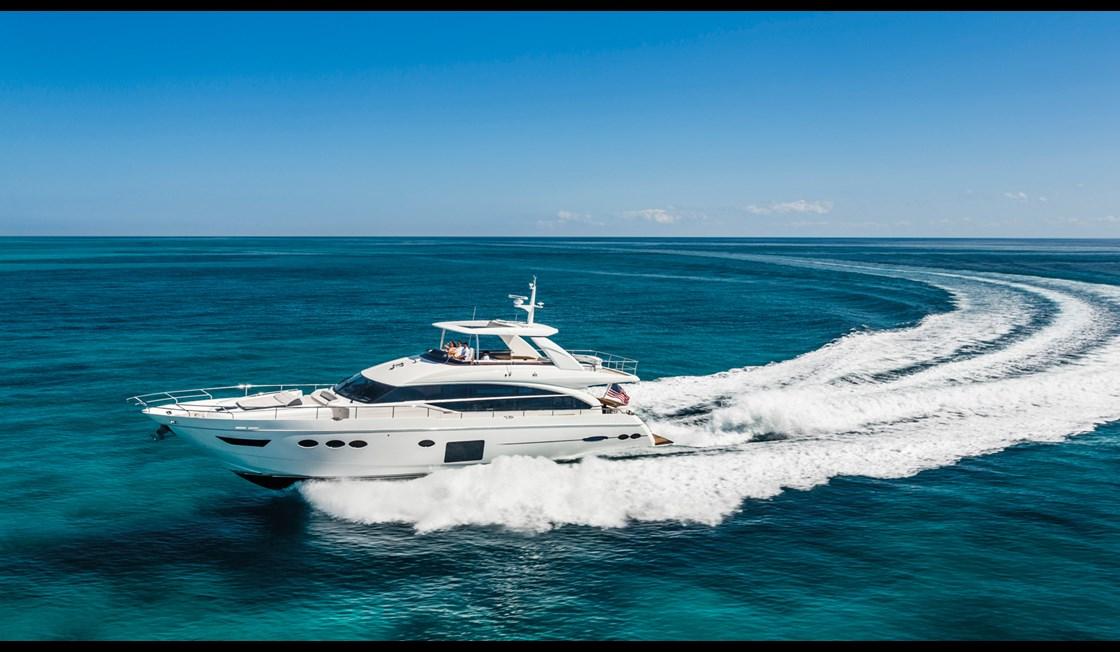 Princess 82 Luxury Motor Yacht Minecraft Map