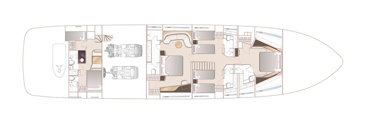 X95 Lower Deck Standard